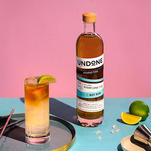 Jamaican Mule Undone not rum recipe
