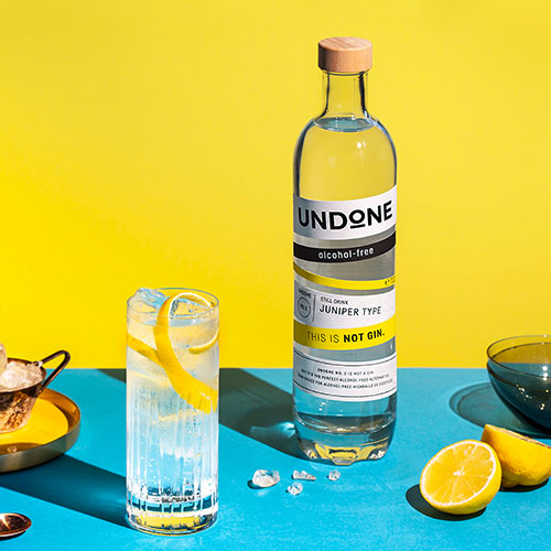 Gin Tonic Undone not rum recipe