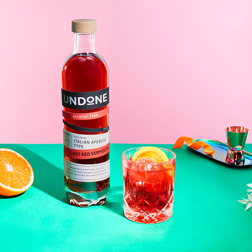 Red Vermouth Tonic Undone not rum recipe
